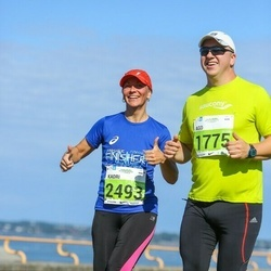 SEB Tallinna Maraton - Ago Arro (1775), Kadri Bauman (2493)