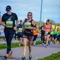 SEB Tallinna Maraton - Katja Tiainen (1360), Ari Karhinen (3598)