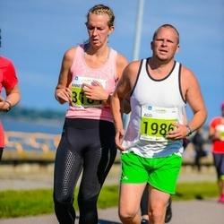 SEB Tallinna Maraton - Ago Siidok (1986), Anneli Kruve (3184)