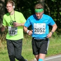 SEB Tallinna Maraton - Martti Kruusamägi (377), Arto Kauhanen (2052)