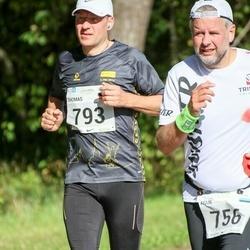 SEB Tallinna Maraton - Agur Jõgi (756), Thomas Ravenberg (793)
