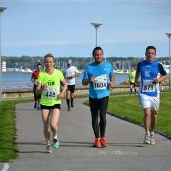 SEB Tallinna Maraton - Saimi Sandell (448), Christopher Jahn (871), Henrik Zvorovski (1604)