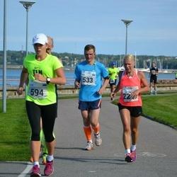 SEB Tallinna Maraton - Ando Kangur (533), Eliise Hoogand (594), Tarja Suutari (2221)
