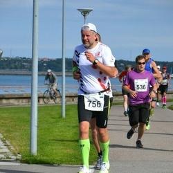 SEB Tallinna Maraton - Jani Tuomaala (536), Agur Jõgi (756)