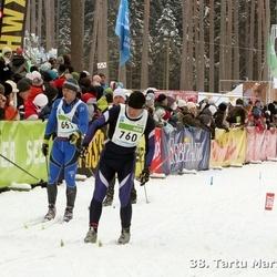 38. Tartu Maraton - Teet Tammiste (464), Vladimir Gubkin (661), Ain Inno (760)