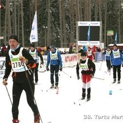 38. Tartu Maraton - Andre Luman (1863), Mairo Kaseväli (2780), Liina Kakk (4726)