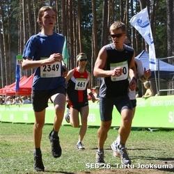 SEB 26. Tartu Jooksumaraton - Aarne Tiit (461), Thomas Visnap (2349)