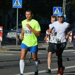 SEB Tallinna Maraton - Jukka Hägg (984), Roman Tkatšenko (1678)