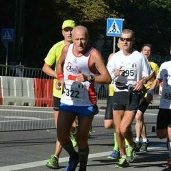 SEB Tallinna Maraton - Giovanni Masotti (322), Arnold Laroye (395)
