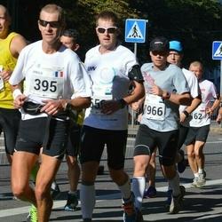 SEB Tallinna Maraton - Arnold Laroye (395), Taavi Tuur (1966)