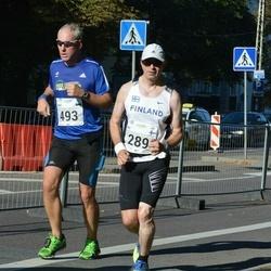 SEB Tallinna Maraton - Ari Kilpinen (289), Mart Luik (493)