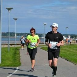 SEB Tallinna Maraton - Ainar Ojasaar (1960), Maie Alaots (2105)