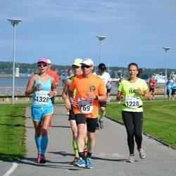 SEB Tallinna Maraton - Lasse Koivulehto (769), Annaliisa Jäme (1228), Ann-Christine Allik (1328)
