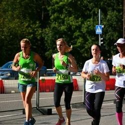 SEB Tallinna Maraton - Mira Helin (1572), Anastasia Totmina (2193), Masha Makarenko (2206)