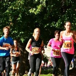 SEB Tallinna Maraton - Anneli Võigas (695), Terje Torop (1263)