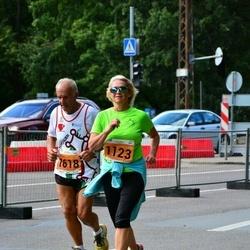 SEB Tallinna Maraton - Lilli Pärn (1123), Agostino Pardini (1618)