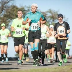 SEB Tallinna Maraton - Joel Võsu (1074), Margus Miller (1130), Arto Hautakangas (1552)