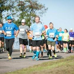 SEB Tallinna Maraton - Elias Oikarinen (678), Ahti Vuks (1084), Niilo Oikarinen (1239), Arto Suninen (1489), Karolin Lorents (1519)