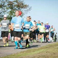 SEB Tallinna Maraton - Elias Oikarinen (678), Niilo Oikarinen (1239), Arto Suninen (1489)