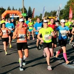 SEB Tallinna Maraton - Kalev Käosaar (195), Tiina Saloranta (883), Evelina Parhomenko (1305), Triin Andresson (1827)