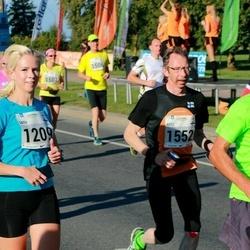 SEB Tallinna Maraton - Satu Uusivirta (1209), Arto Hautakangas (1552)