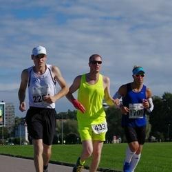 SEB Tallinna Maraton - Ragnar Virma (433), Eerik Heldna (460), Kaspars Rolavs (1709), Artemiy Kologriv (2204)