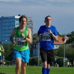 SEB Tallinna Maraton - Hektor Uustalo (326), Alvin Vann (1733)