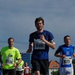 SEB Tallinna Maraton - Christopher Jahn (871), Mart Raukas (946), Francesco Allaix (2118)