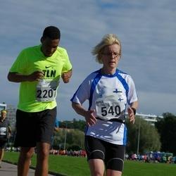 SEB Tallinna Maraton - Birgi Putkonen (540), Franklyn Arkhurst (2207)