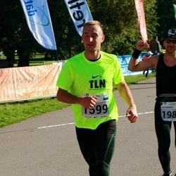 SEB Tallinna Maraton - Erko Tšernobrovkin (1599), Alexander Tikhonov (1989)