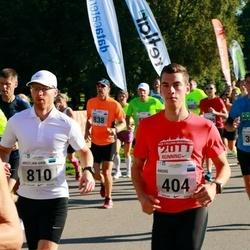 SEB Tallinna Maraton - Andre Petraudze (404), Kristjan-Erik Kokk (810)