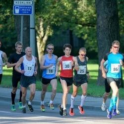 SEB Tallinna Maraton - Ago Veilberg (12), Kalev Õisnurm (18), Hardo Reinart (25), Sander Hannus (27), Allan Männi (30), Morten Sætha (86)