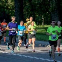 SEB Tallinna Maraton - Alexander Roeder (38), Satu Kaarlela (933), Joonas Karjalainen (934), Peeter Kuddu (1801)