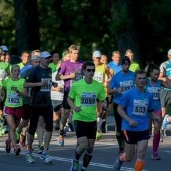 SEB Tallinna Maraton - Ando Kangur (533), Alexey Sadomov (2059)