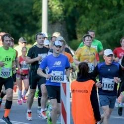 SEB Tallinna Maraton - Priit Talu (201), Tiit Kivisild (1165), Argo Sikk (1655), Kati Reispass (1723), Ando Hermsalu (1970)