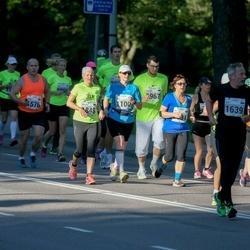 SEB Tallinna Maraton - Ülle Suursaar (1100), Helen Poon (1516), Nikolai Predbannikov (1576), Ago Sampka (1639), Anne-Ly Lään (1848)