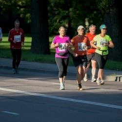 SEB Tallinna Maraton - Antti Sadeharju (522), Arttu Sadeharju (523), Alina Shmakova (1642), Nikolay Tereshchuk (1643)