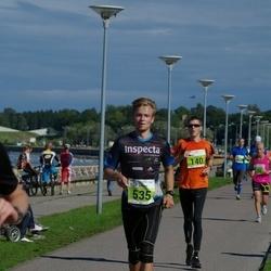 SEB Tallinna Maraton - Andre Lomaka (140), Tomi-Andre Piirmets (535)