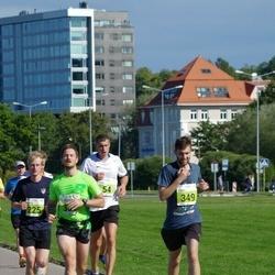 SEB Tallinna Maraton - Kristo Hüdsi (225), Daniil Bulitkin (349), Aleksandrs Orlovs (352)