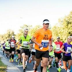 SEB Tallinna Maraton - Tiina Tross (60), Ivo Miller (466), Veljo Vask (909), Tarvo Siim (966), Aleksei Kuligin (2154)