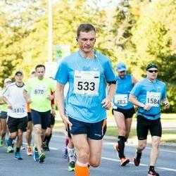 SEB Tallinna Maraton - Ando Kangur (533), Juha-Pekka Pitkämö (1584)