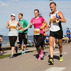 SEB Tallinna Maraton - Asbjorn Ytterland (1700), Jaanika Lukats (1716), Adeele Arnek (2784)