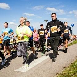 SEB Tallinna Maraton - Arno Kender (726), Kairi Killing (3025), Šamsudin Mussajev (3902), Aleksandr Svjatnoi (5625)