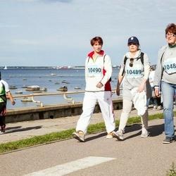 SEB Tallinna Maraton - Jevgenia Keeroja (10488), Tatiana Timuska (10489), Jelena Smirnova (10490), Anita Ivask (12629), Evelyn Kruus (12630)