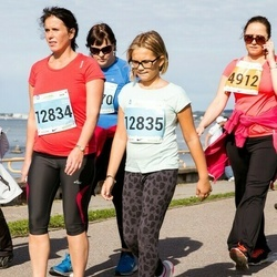 SEB Tallinna Maraton - Annabel Hiis (4912), Kristel Martin (12834), Pirjo Pihlak (12835)