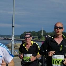 SEB Tallinna Maraton - Anatoli Šuvalov (618), Seppo Niemelä (1064)