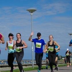 SEB Tallinna Maraton - Helen Skeen (1045), Ander Avila (1382), Melissa Tuuling (1383)