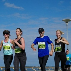 SEB Tallinna Maraton - Helen Skeen (1045), Ander Avila (1382), Melissa Tuuling (1383), Laura Takala (2124)