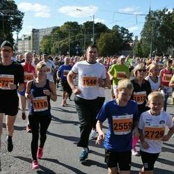 SEB Tallinna Maraton - Tarvo Staal (1080), Kaie Pilme (1118), Christina Kallas (1392), Margus Andresson (1481), Mait Teiverlaur (1544), Mihkel Märtin (2727)