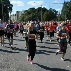 SEB Tallinna Maraton - Britt-Marena Tiikmaa (828), Katrin Hiob (1327), Ulvi Loonurm (1554), Kristi Toommägi (2561), Julija Šastina (2758), Andrejs Horošavins (3768), Kim Truija (5906)